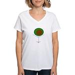 DiRTY Martini Women's V-Neck T-Shirt