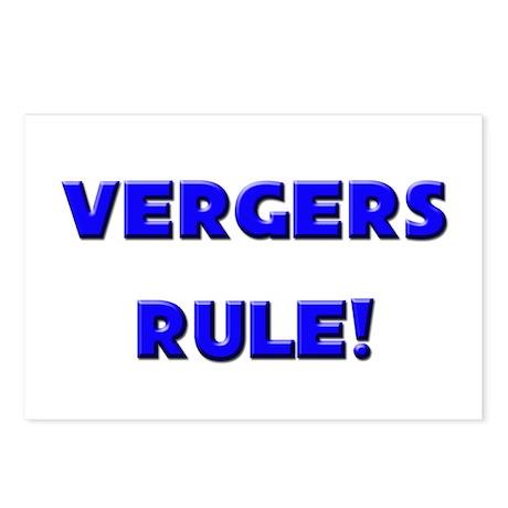 Vergers Rule! Postcards (Package of 8)