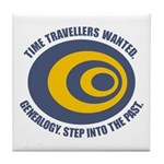 Time Travellers Tile Coaster