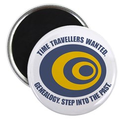 Time Travellers Magnet