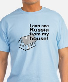 """Russia"" Light Blue T-Shirt"