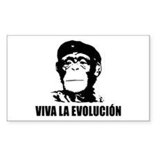 Viva La Evolucion Darwin Decal