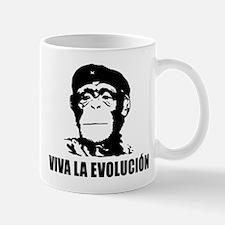 Viva La Evolucion Darwin Small Small Mug