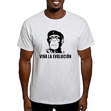 Viva La Evolucion Darwin T-Shirt
