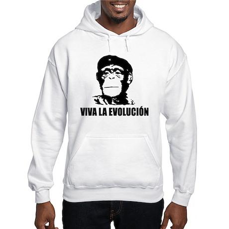 Viva La Evolucion Darwin Hooded Sweatshirt