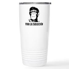 Viva La Evolucion Darwin Thermos Mug
