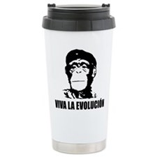 Viva La Evolucion Darwin Travel Mug