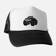 GREEN MONSTER TRUCKS Trucker Hat