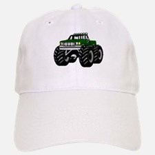 GREEN MONSTER TRUCKS Baseball Baseball Cap