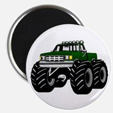 GREEN MONSTER TRUCKS Magnet