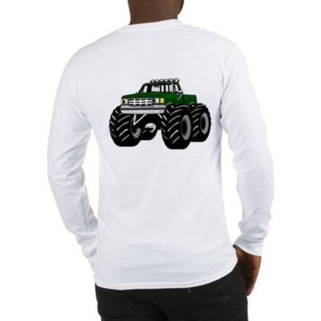 GREEN MONSTER TRUCKS Long Sleeve T-Shirt