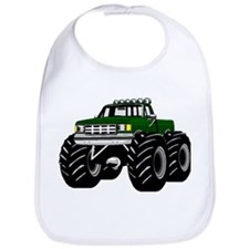 GREEN MONSTER TRUCKS Bib