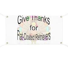 Thanks for Flat Coat Banner