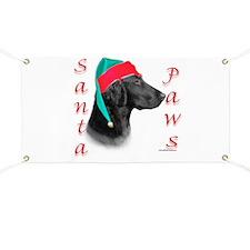 Santa Paws Flat Coat Banner