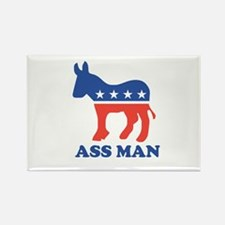 Ass Man Rectangle Magnet