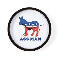 Ass Man Wall Clock