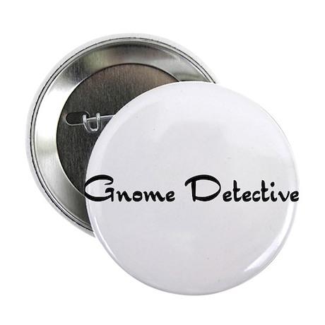 """Gnome Detective 2.25"""" Button"""