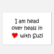 Suzi Postcards (Package of 8)