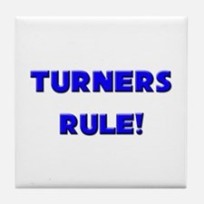 Turners Rule! Tile Coaster