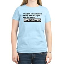 I Hacked Sarah Palin T-Shirt