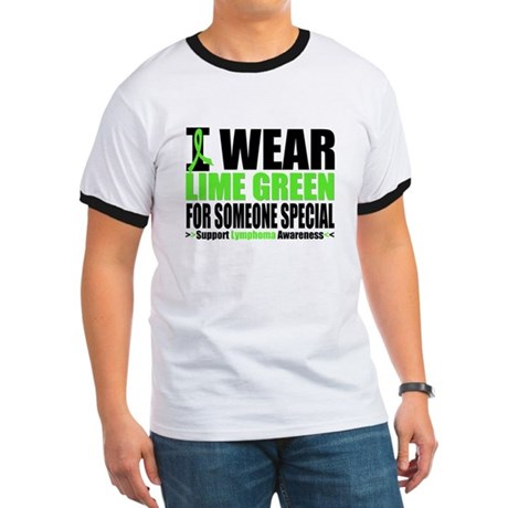 IWearLimeGreen Special Ringer T
