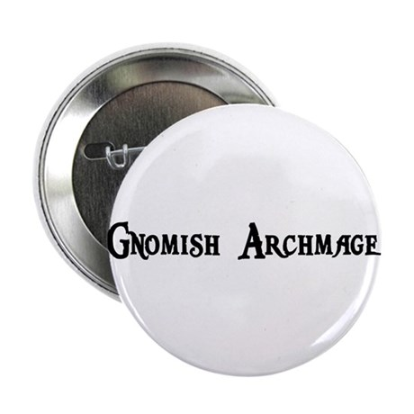 "Gnomish Archmage 2.25"" Button (10 pack)"