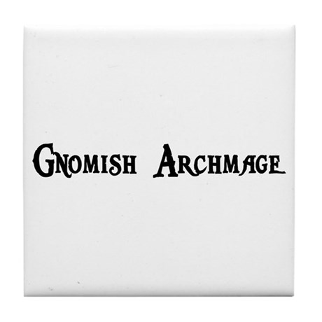 Gnomish Archmage Tile Coaster