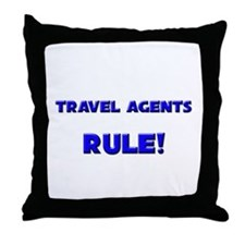 Travel Agents Rule! Throw Pillow