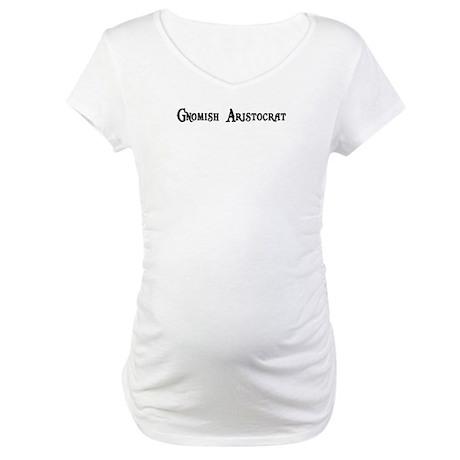Gnomish Aristocrat Maternity T-Shirt