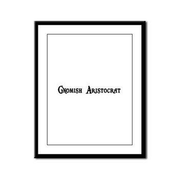 Gnomish Aristocrat Framed Panel Print