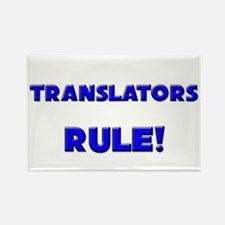 Translators Rule! Rectangle Magnet
