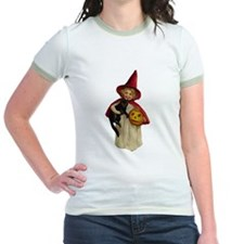 Red Girl Witch T