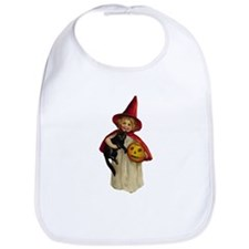 Red Girl Witch Bib