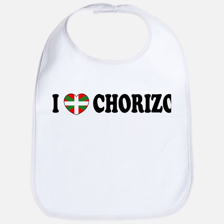 I Heart Chorizo Bib