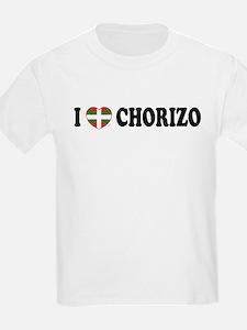 I Heart Chorizo Kids T-Shirt