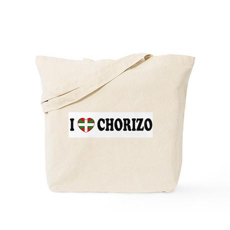 I Heart Chorizo Tote Bag