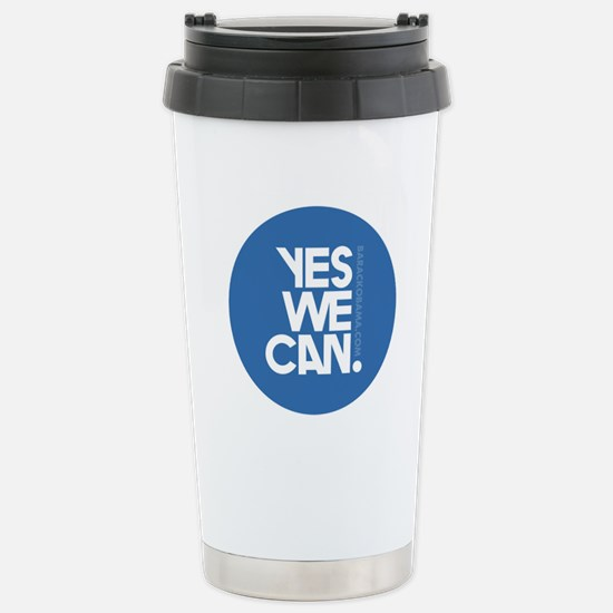 YES WE CAN Stainless Steel Travel Mug