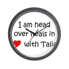 Cool Talia Wall Clock