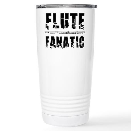 Flute Fanatic Stainless Steel Travel Mug