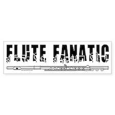 Flute Fanatic Bumper Bumper Sticker