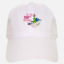 It's My 100th Birthday (Party Hats) Baseball Baseball Cap