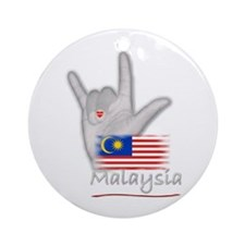I Love You - Malaysia - Ornament (Round)