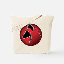 Red Sun Malinois Tote Bag