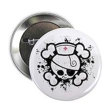 "Dolly RN Splat 2.25"" Button"