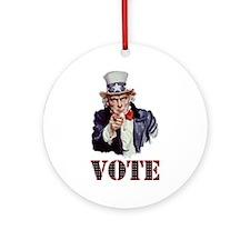Vote! Ornament (Round)