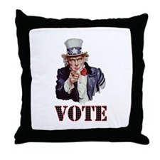 Vote! Throw Pillow