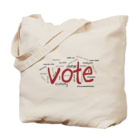 Vote the Issues Tote Bag