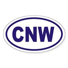 Camp Chenawah CNW Euro Oval Decal