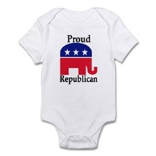 Proud Republican Infant Bodysuit