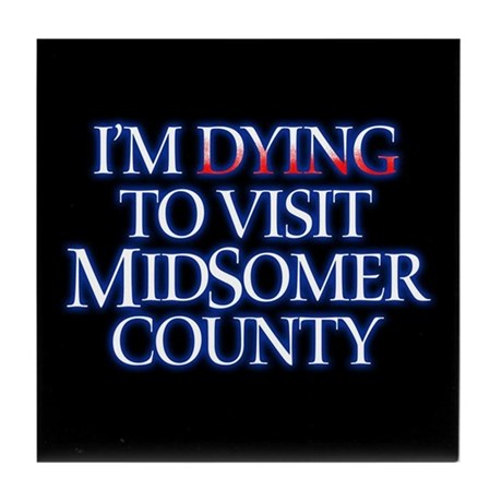 Dying to Visit Tile Coaster